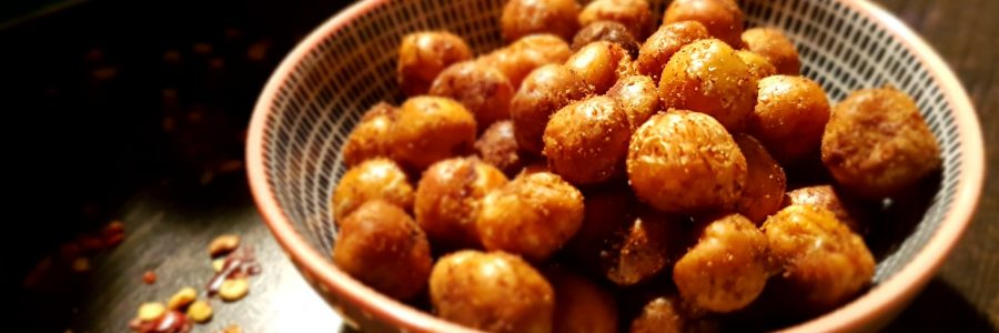 chickpea crunchy snack
